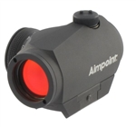 AIMPOINT Micro H-1 2 MOA Micro Red Dot Sight W/ Standard Mount