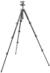 Manfrotto Bogen 293 Compact Aluminum 4 Section (Black) Tripod with (Quick Release) Ball Head