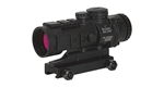 BURRIS AR-332 Prism Sight with Picatinny mount for rail or handle, Matte, 3X with lens covers and Ballistic/CQ reticle