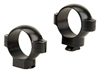 BURRIS Standard Solid Steel Rings (Dovetail front, Windage Adjustable Rear) Gloss Medium 1 inch