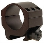 BURRIS Xtreme Tactical 30mm Low 1/4 inch (Matte, Single Ring)