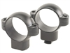 BURRIS Standard Solid Steel Rings (Dovetail front, Windage Adjustable Rear) Matte High 1 inch