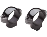 BURRIS Standard Solid Steel Rings (Dovetail front, Windage Adjustable Rear) Matte Low 30mm