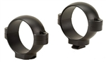 BURRIS Standard Solid Steel Rings (Dovetail front, Windage Adjustable Rear) Matte Medium 30mm