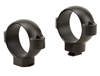 BURRIS Standard Solid Steel Rings (Dovetail front, Windage Adjustable Rear) Matte High 30mm