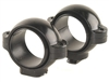 BURRIS (Dovetail front, Windage Adjustable Rear) Gloss Medium 1 inch Signature Rings