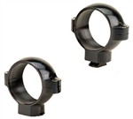 BURRIS (Dovetail front, Windage Adjustable Rear) Gloss High 1 inch  Signature Rings