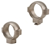 BURRIS (Dovetail front, Windage Adjustable Rear) Silver High 1 inch  Signature Rings