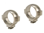 BURRIS Signature Double Dovetail Rings Silver Medium 1 inch