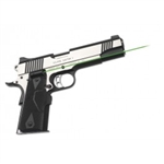 CRIMSON TRACE Lasergrip 1911 Full Size (Government & Commander) Green Laser Front Activation