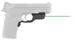 CRIMSON TRACE Laserguard Smith & Wesson M&P380EZ, M&P22 Compact, Green Laser Front Activation