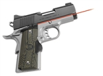 CRIMSON TRACE Lasergrip 1911 Compact (Officer & Defender) Master Series G10 Green Front Activation