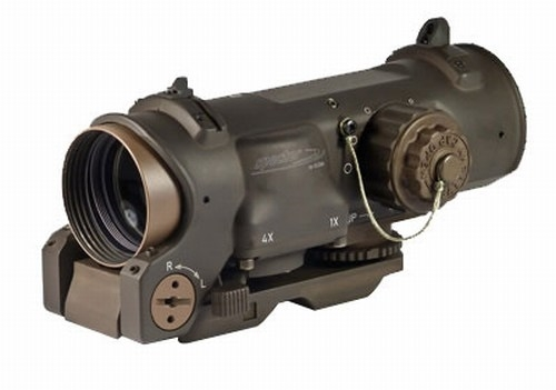 ELCAN Flat Dark Earth SpecterDR Optical Sight model 1x-4x 5.56 NATO