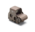 EOTECH 68 MOA Circle with two 1 MOA Aiming Dots (uses CR 123 battery) Night Vision Compatible Super Short Model Tan