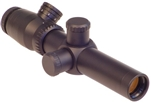 VALDADA IOR 1.5-8x26mm (35mm tube) SFP Trident Tactical Matte Illuminated CQB with BDC .308 cam (includes rings)