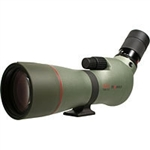 KOWA TSN 77mm Angled Spotting Scope (Green Rubber Armor) (Prominar XD Lens) with Kowa 25-60X Eyepiece Works Package