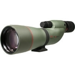 KOWA TSN 77mm Straight Spotting Scope (Green Rubber Armor) (Prominar XD Lens) with Kowa 25-60X Eyepiece Works Package