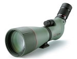 KOWA TS 88mm Angled Spotting Scope (Green Rubber Armor) Body and 25-60 Eyepiece WA (Prominar Pure Flourite Lens)