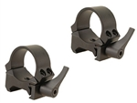 LEUPOLD Quick Release Weaver Style 1-inch, Low, Matte Rings