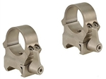 LEUPOLD Quick Release Weaver Style 1-inch, High, Silver Rings