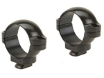 LEUPOLD Dual Dovetail 1-inch, Low, Gloss Rings