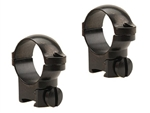 LEUPOLD Rimfire 13mm, Medium, Gloss Ringmounts