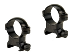 LEUPOLD Cross-Slot 1-inch, Medium, Gloss Ringmounts
