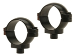 LEUPOLD Quick Release 1-inch, Low, Gloss Rings