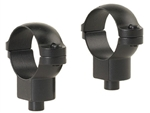 LEUPOLD Quick Release 1-inch, High, Matte Rings
