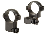 LEUPOLD Ruger M77 1-inch, High Extension, Matte Ringmounts