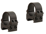 LEUPOLD Permanent Release Weaver 1-inch, Low, Matte Rings