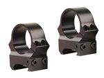 LEUPOLD Permanent Release Weaver Style 1-inch, Medium, Gloss Rings