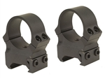 LEUPOLD Permanent Release Weaver Style 1-inch, High, Matte Rings