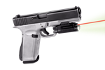 "LASERMAX Spartan 1 3/4"" Rail & Up Mount Red Laser/Light"