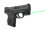 "LASERMAX Spartan 1"" Rail & Up Mount Green Laser"