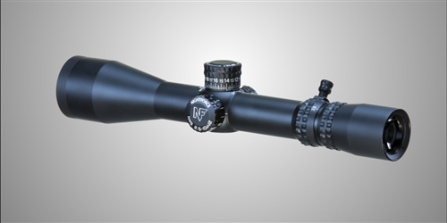 NIGHTFORCE NXS 2.5-10x42mm (Matte) 30mm Tube SF (1/4 MOA) with MOAR DigIllum Reticle & Zero Stop Elevation Knobs (C458)