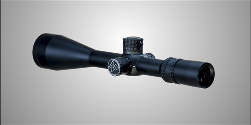 NIGHTFORCE NXS 5.5-22x56mm (Matte) 30mm Tube SF (0.1 Mil-Radian Knobs) with ZeroStop & Mil-Dot Reticle (C244)