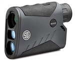 SIGARMS KILO1000BDX 5x20mm Laser Range Finding Monocular, HT-LCD Display, BT, ABU, Graphite