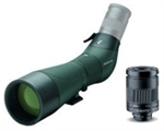 "SWAROVSKI ATS 65 HD Angled Spotting Scope (65mm Body) & Swarovski 25-50X Vario ""Wide Angle"" Eyepiece Compact Works Package"