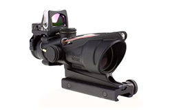4x32 ACOG Dual Illuminated Red Crosshair .223 Reticle with 7.0 MOA RMR®
