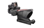 Trijicon ACOG 4x32 Scope, Dual Illuminated Red Crosshair .223 Ballistic Reticle, 3.25 MOA RMR Sight