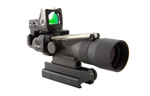 3x30 Dual Illumination Chevron .223 Ballistic Reticle, 9.0 MOA RMR Sight, and TA60 Mount