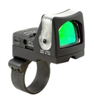 TRIJICON RMR Dual Illuminated 13.0 MOA Amber Dot Sight with RMM36 ACOG Mount (fits only 1.5x, 2x and 3x ACOG)