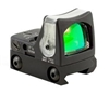 TRIJICON RMR Dual Illuminated 9.0 MOA Amber Dot Sight with RM33 Picatinny Rail Mount (low)