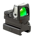 TRIJICON RMR Dual Illuminated 9.0 MOA Amber Dot Sight with RM34 Picatinny Rail Mount (high)