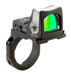 TRIJICON RMR Dual Illuminated 9.0 MOA Amber Dot Sight with RM38 ACOG Mount (fits only 3.5x, 4x and 5.5x ACOG)
