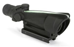 TRIJICON ACOG 3.5x35mm Dual Illuminated Green Crosshair .308 Ballistic Reticle with TA51 Flat Top Adapter