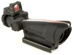 TRIJICON ACOG 3.5x35mm Dual Illuminated Red Crosshair .223 Ballistic Reticle 4.0 MOA RMR with TA51 Flat Top Adapter