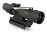 TRIJICON Compact ACOG 3x30mm Dual Illumination Amber Chevron .308 Ballistic Reticle with TA60 Mount