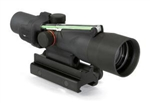 TRIJICON Compact ACOG 3x30mm Dual Illumination Green Chevron .308 Ballistic Reticle with TA60 Mount